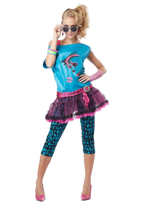 80s Valley Girl Costume | adult valley girl costume