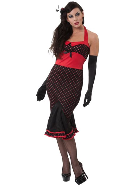 Wardrobe Fancy Dress by Havanna Hurricane 50 S Style Burlesque Costume 996415