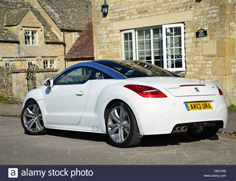 peugeot compact car white peugeot rcz compact sports car swinbrook