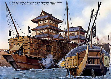ship japan japanese warship 16th century east pinterest 16th