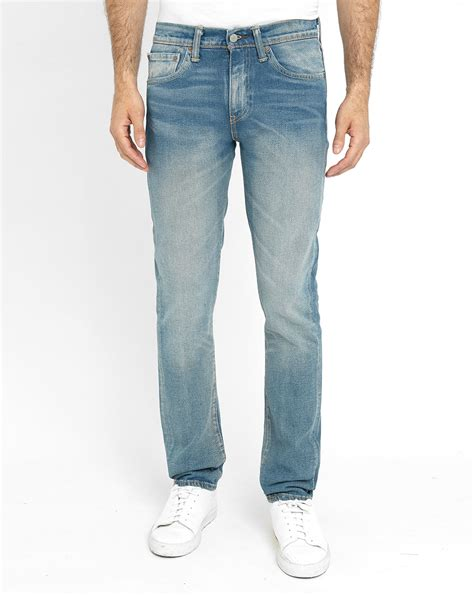 Celana Levis Slimpit Blue Garment levi s faded sky blue 511 slim fit in blue for lyst