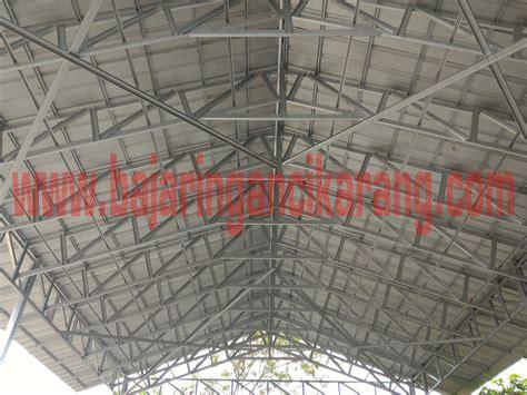 Proyek Rangka Baja Ringan Cremona Atap Spandeck di Jl