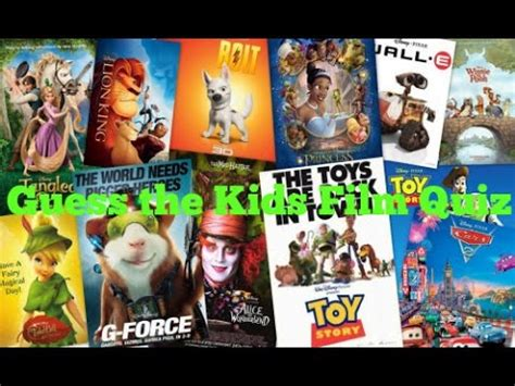 film quiz youtube guess the kids film quiz youtube