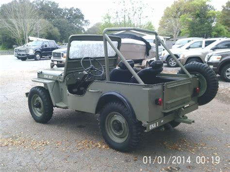 1945 Army Jeep Seller Of Classic Cars 1945 Jeep 1945 Ford Army