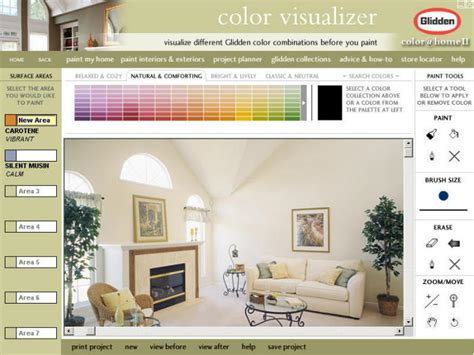 interactive color picker for glidden paint eyemg web mobile social