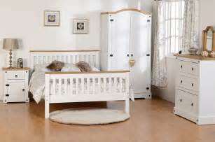 Waxed Pine Bedroom Furniture Seconique White Corona Farm House Bedroom Furniture White Waxed Pine Ebay