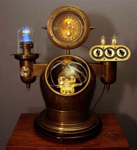 Cool Desk Lamp by Steampunk Inspired Lighting By Art Donovan
