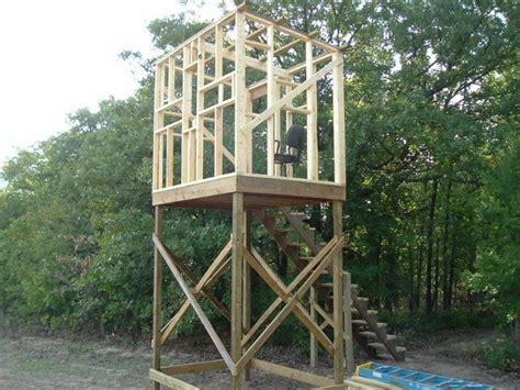 Plans For Elevated Deer Blind elevated stand plans blinds