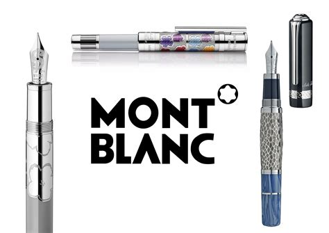 Gelang Fashion Mont Blanc montblanc gets inspired by leo tolsoy and andy warhol for its writing intruments limited edition