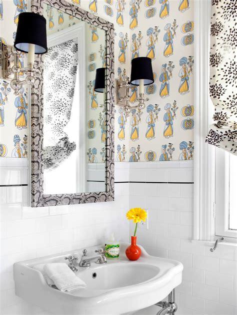 10 big ideas for small bathrooms hgtv 10 big ideas for small bathrooms hgtv