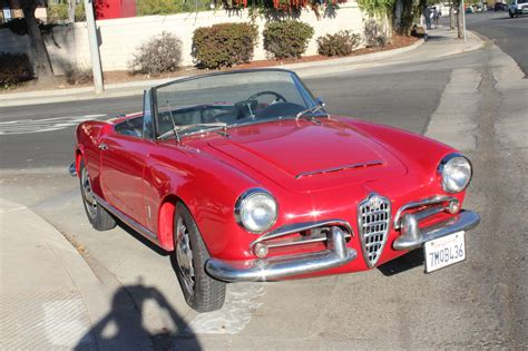 1964 alfa romeo giulia giulietta spider for sale