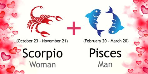 scorpio woman and pisces man love compatibility ask oracle