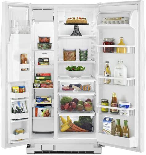 Refrigerator Side Shelf by Whirlpool Wrs342fia 33 Inch Side By Side Refrigerator With