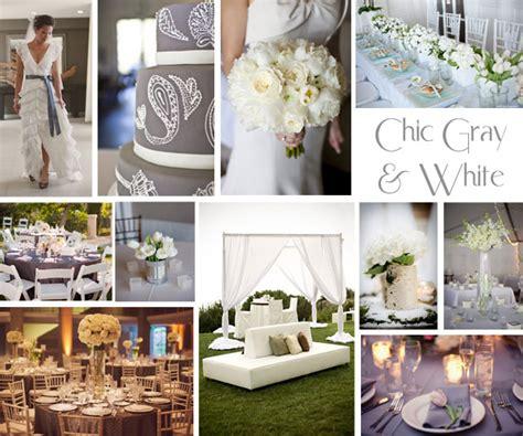 gray and white wedding ideas gray wedding