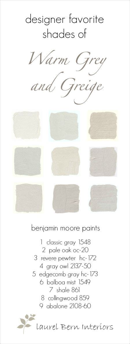 nine fabulous benjamin warm gray paint colors pewter paint colors and grey