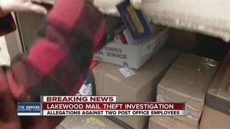 allegations of employee mail theft at lakewood post office