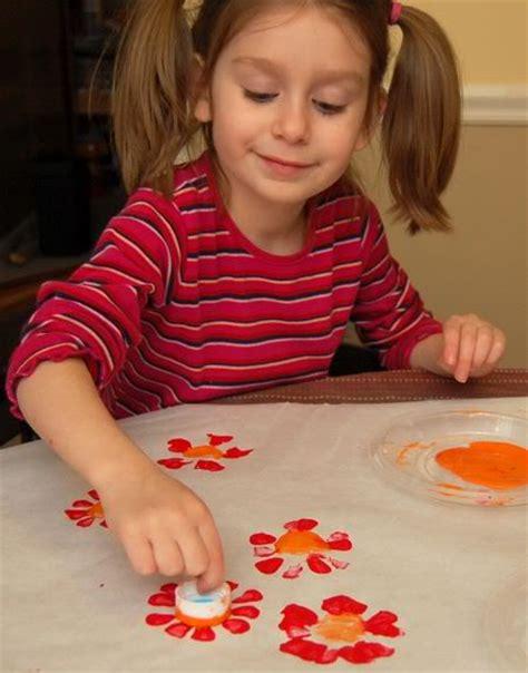 soda bottle flower painting flower prints from soda bottles inner child fun