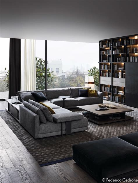 monochromatic living room two inspiring luxury homes one ornate one refined