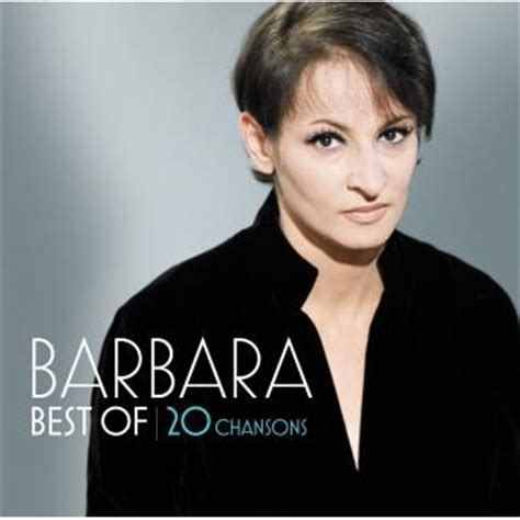 best barbera best of 20 chansons barbara cd album fnac