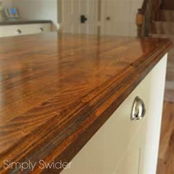 creating custom butcher block countertops simply swider