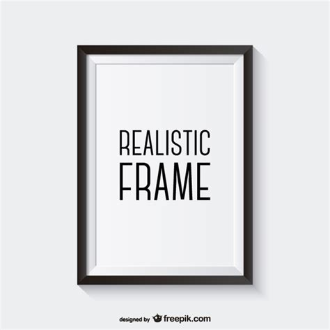 photo frame design vector realistic vector frame vector free download