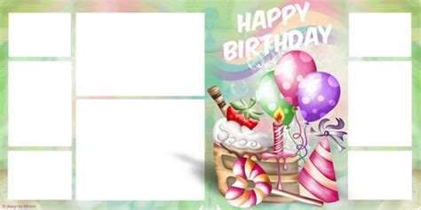 happy birthday album design birthday photo album design templates www pixshark com