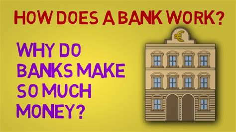 how does the world bank get money how does a bank work and why do banks make so much money