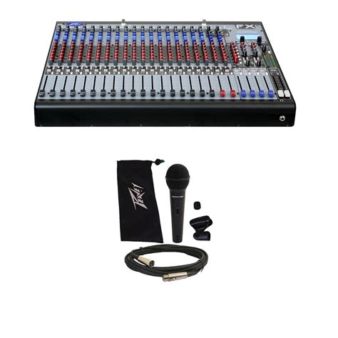 Daftar Audio Mixer Peavey peavey fx 2 24 pro audio 24 channel effects console studio