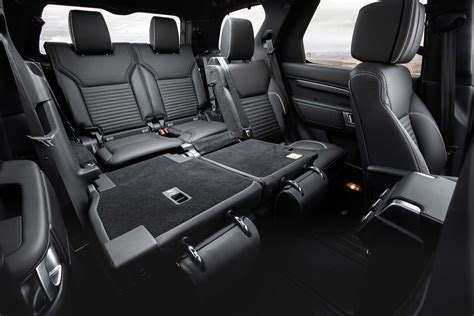 range rover seats 2017 land rover discovery seats folded motor trend