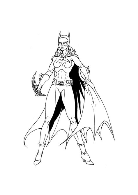 Batgirl An Supergirl Coloring Pages Supergirl Coloring Pages For Printable Free