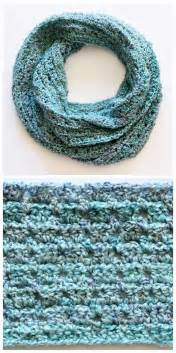 Crocheted Infinity Scarf Last Minute Free Crochet Infinity Scarf Pattern For Him