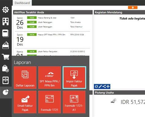 langkah membuat faktur pajak online membuat impor faktur pajak pada accurate online accurate