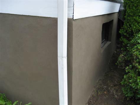 stucco basement walls dempski masonry stucco contractor parging resurfacing