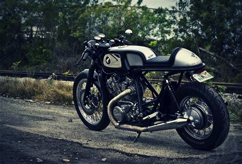motogrotto vintage custom cafe racer bike build for bmw payback by dime city cycles silodrome