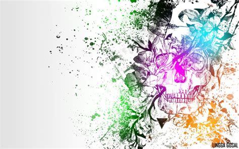 colorful wallpaper deviantart colorful skull wallpaper 2 by linggagosal6661 on deviantart