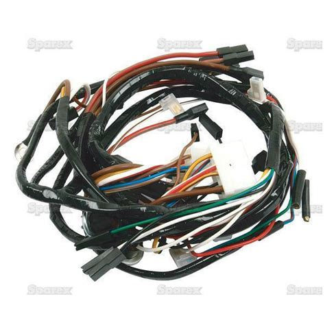 Ford Tractor Wiring Harness 2000 3000 4000 Diesel 65 74