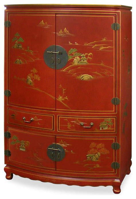 Armoire With Tv Storage by Chinoiserie Scenery Design Tv Armoire Storage