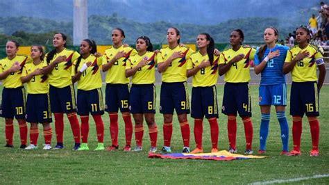 hora de bogota colombia selecci 243 n colombia femenina sub 20 horario cuadrangular final