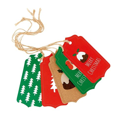 festive christmas gift tags marie curie online charity shop