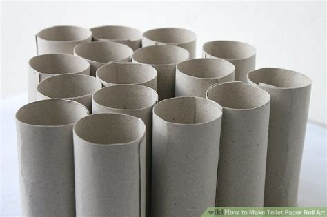 toilet paper rolls how to make toilet paper roll 12 steps with pictures