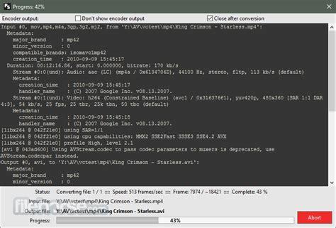 avi format converter software pazera free mp4 to avi converter portable 1 13 32 bit
