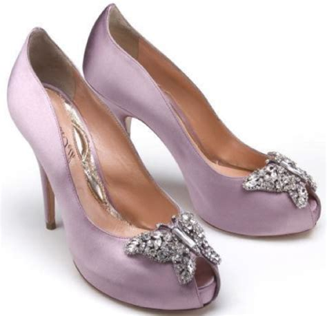 Lilac Shoes For Wedding by Inspired Accessories For The Entire Bridal