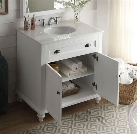 design house cottage vanity 34 inch bathroom vanity coastal cottage beach house white