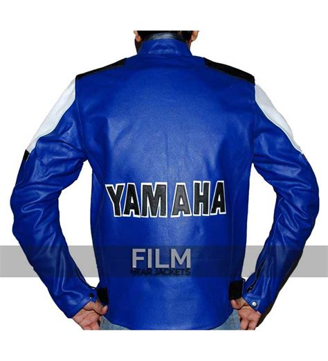 blue motorbike jacket yamaha blue racing motorcycle leather jacket