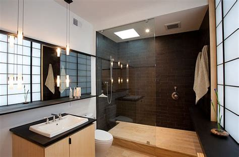 Japanese Bathroom Lighting Stylish Walk In Shower Enclosures The Choice