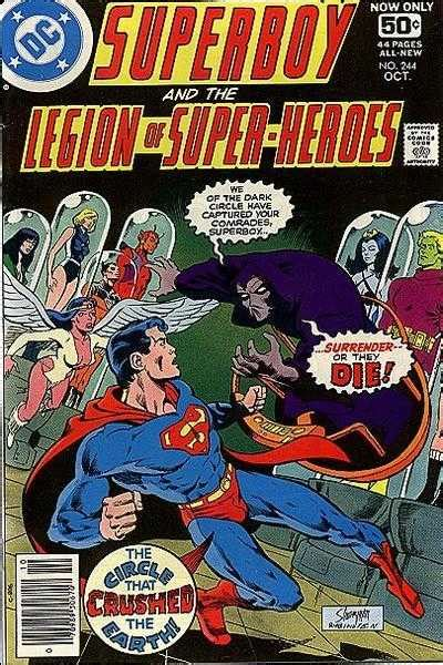 superboy and the legion of heroes vol 2 superboy and the legion of heroes 244 the