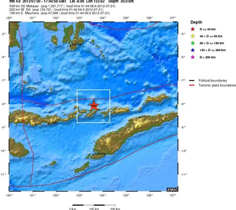 earthquake flores the coming crisis 4 7 magnitude earthquake flores region