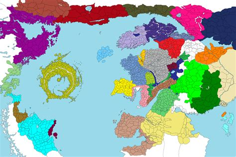 leaked images realms of the new world factions and map is too big for lustria naggaroth and ulthuan total