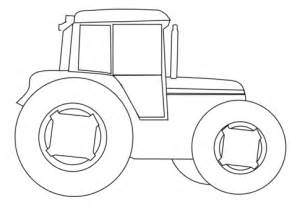 Tractor Template Printable by Farm Tractor Coloring Page Free Printable Coloring Pages