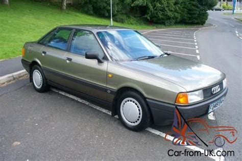 how cars engines work 1989 audi 80 instrument cluster 1988 f audi 80 1 8 s 5 speed manual 4 door saloon 1 owner 56 000 miles